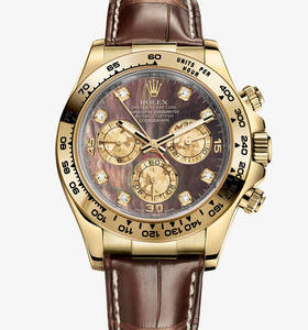 Replica Rolex Cosmograph Daytona Watch: 18 ct ouro amarelo - M116518 - 0073